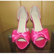 New Design Ladies High Heel Wedding Dress Stiletto (HCY02-1656)