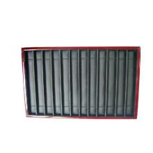 12 Slot Wooden Coating Elastic Jewelry Bracelelt Display Tray (TH-12BT-BRLW)