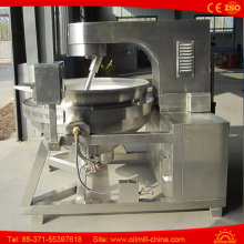 Stainless Steel Hot Air Commercial Popcorn Machine Automatic Popcorn Machine