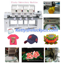 Commercial embroidery machine with 4 heads 9 colors
