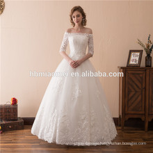 2018 Cheap On Line Hot Sale Mermaid Pure White Elegant Lady Sexy Affordable Wedding Dress