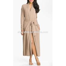 Оптовая цена женщин новый сексуальный дизайн ночной кашемирового халата
