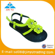 Zapatos de los niños de la flor al por mayor