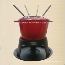 OEM ODM LFGB Ce FDA Gusseisen Fondue Hersteller aus China