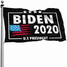 Custom Joe Biden Flag Satin Printing USA American