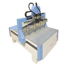 Roteador CNC para madeira de quatro cabeças