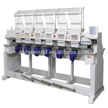 Industrial Embroidery machine , ORDER 6 heads computerized embroidery machine Lowest price made in china