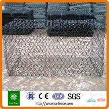 Cage de pierre en gabion