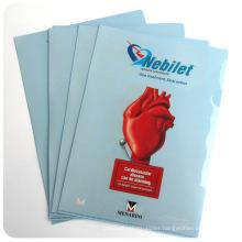 OEM printing report folder/book cover/file bag/file holder
