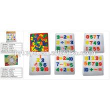 JQ1112 niños inteligente juguete diy escritorio de plástico que conecta el juguete del rompecabezas