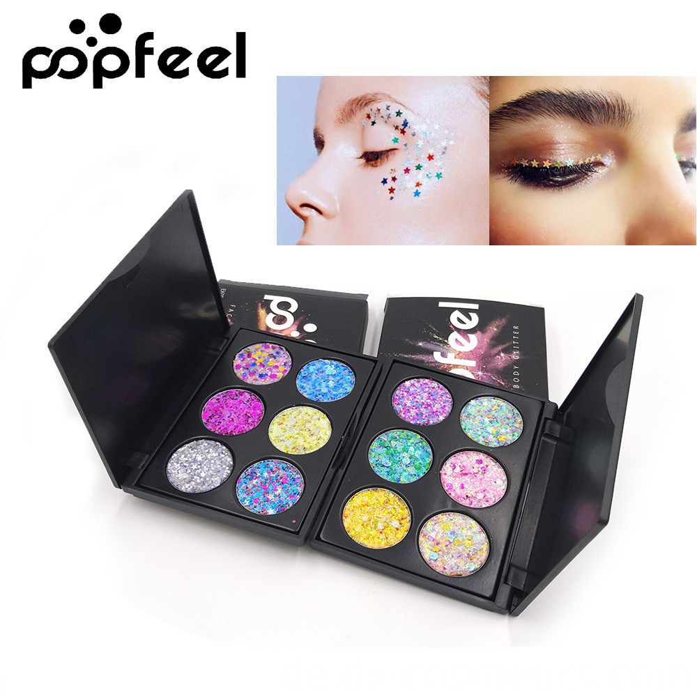 6 Colors Gligger Eye Shadow 5