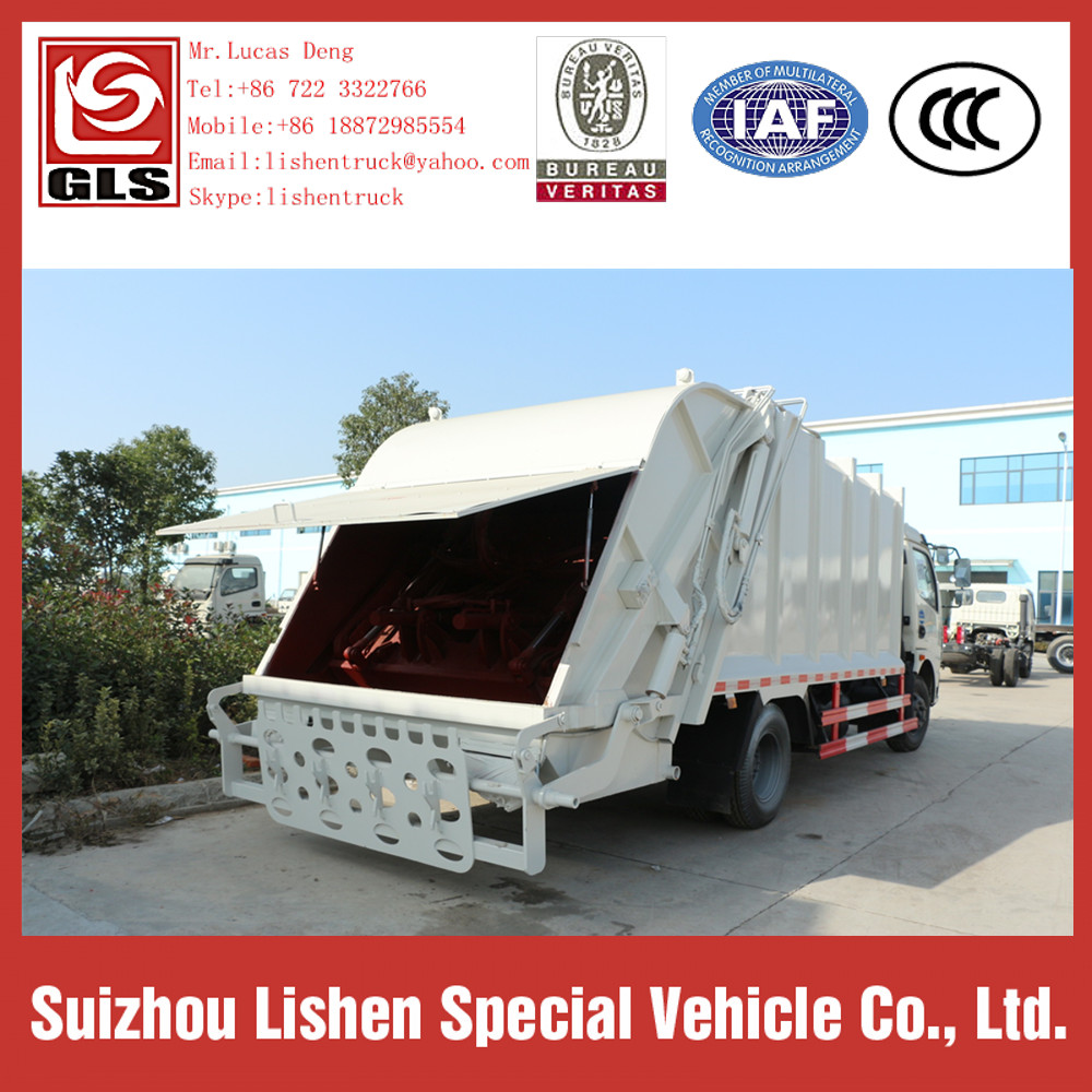 garbage compactor truck price