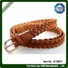 Hot Selling Leather Webbing Pin Buckle Belts