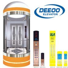 Deeoo Panoramische Beobachtung Aufzug Glas Sightseeing Aufzug