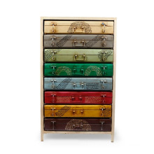 Metal Suitcase Cabinet