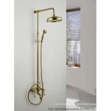 Golden Plated Bathroom Bath Faucet