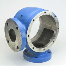 Sand casting iron pump casing