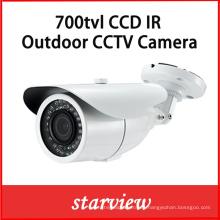 700tvl Sony 960h CCD impermeable IR CCTV Bullet cámara de seguridad