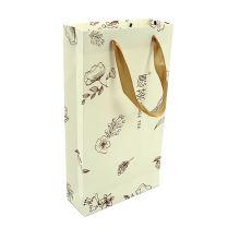 Guangzhou Manufacturer Cheaper Price Art Card Paper Bag Carry Handle Shopping Gift Bag
