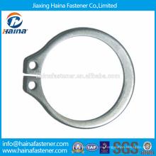 Китайский производитель Лучшая цена DIN471 Углеродистая сталь / нержавеющая сталь Стопорные кольца для валов-Нормальный тип и тяжелый тип
