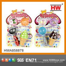 Jogo interessante do miúdo jogo fabricante do gelado brinquedo brinquedo do gelado