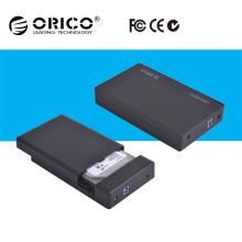 ORICO 3,5 pouces USB 3.0 à SATA Boîtier de stockage externe Boîtier de disque dur 3.5 Disque dur pour ordinateur de bureau