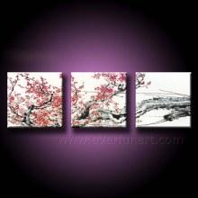 Hot-Sale Design Blumen Ölgemälde (FL3-212)