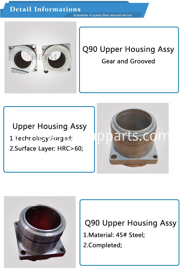 90 upper housing assy