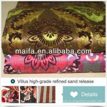 Novo estilo para 2016 cortinas de luxo desenhos para tecido de estofamento de abacaxi