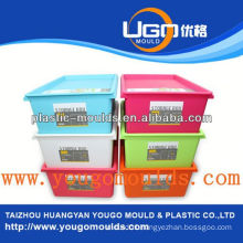 zhejiang taizhou huangyan container plastic mould maker and 2013 New household plastic injection tool box mouldyougo mould