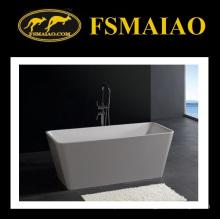 Прямоугольник тонкий-Edage freestanding Твердый поверхностный ванной (БС-8603)
