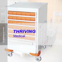 Chariot de distribution médicale à vendre (THR-ZY108)