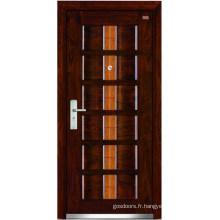 Porte en acier en bois (LT-303)