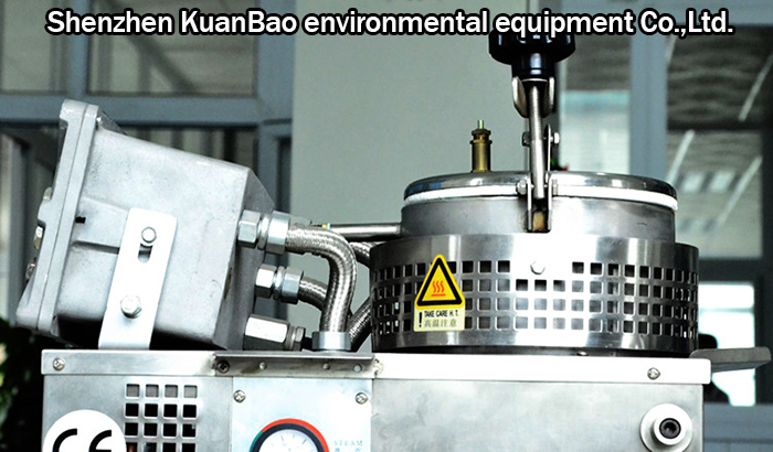 Intelligent automatic solvent recovery equipment wholesale