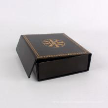 Regalo de papel plegable de encargo de la caja de papel con magnético