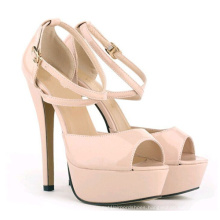 2016 New Arrival Fashion High Heel Ladies Dress Shoes (A138)