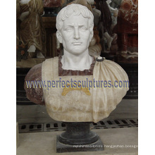 Stone Marble Head Bust Sculpture for Figurine Statue (SY-S309)