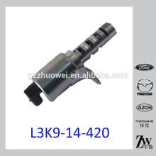 Excellente unité de vanne de contrôle de l'huile de synchronisation de came pour Mazda L3K9-14-420