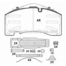 29171 trailer brake pad spare parts for BPW/SAF