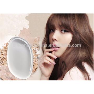 Новая мода силиконовые макияж пуховкой макияж губка силикон слезинка