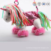 Plush unstuffed happy kid dog toys