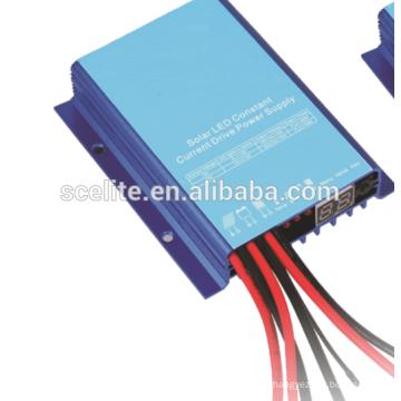 Sistema de suministro de energía de unidad de corriente constante con LED solar
