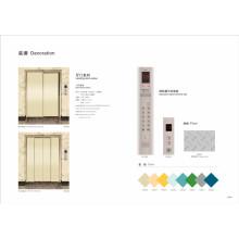 Standard Paited Steel Freight Elevator mit CE-Zertifizierung