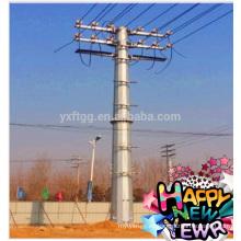 33KV La mejor venta Octagonal Energía Eléctrica Polo de acero