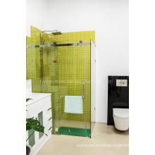 AS / NZS2208 Cuarto de baño de cristal Frameless Sitio simple del recinto de la ducha (H001E)