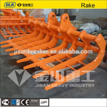 excavator rake new price for all kinds of excavator
