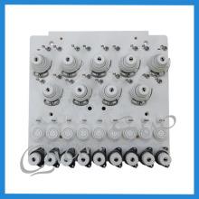 Visser la plaque de serrage de pièces de rechange de machine de broderie
