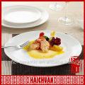 Plate hotel ware porcelain, hotel service ware