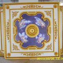 1.8m * 1.8m Matériel de décoration Artistic Ceiling Factory Wholesale