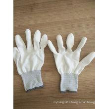 PU Finger Tip PU Coated Safety Work Gloves (PU011)